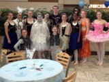 RCYBE The River City Youth Ballet Ensemble Company Members with guest dancer Parker Holstein.