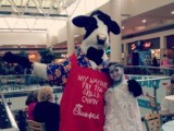 RCYBE The Chick Fil A cow with The Snow Queen.